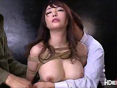 Sexy japanese Haruka gets savagely fuck