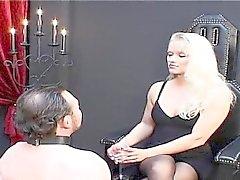Hot sihteerinä blonde Teen
