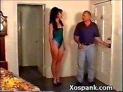 Seksi Kölelik Hoe Çılgınca Spanked