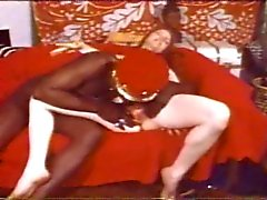 King Paul and his man servant fuck a white chick