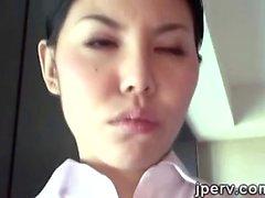 2. Sexy Japon hostes Otel odasýnda bir ahmak serv