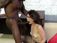 Hot girlfriend anal pain