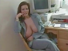 linsey dawn mckenzie getting her giant tits interviewed