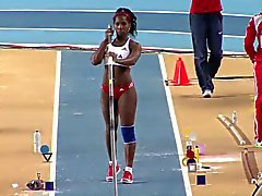 Yarisley Silva: Sexy ASS Cuban Olympics Pole Vault - Ameman