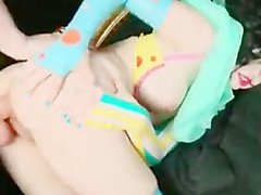 Kinky & Cute Clown Doll Gets Anally Pleased
