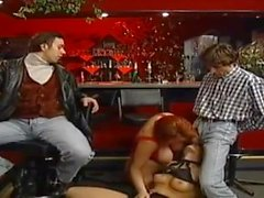 german mature bbw kira red in a orgy