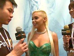 PornhubTV Selena Rose Interview at 2014 AVN Awards