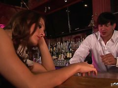 Gracie Glam works as a waitress at her local bar and once...
