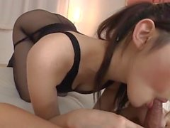 hornycams - Azumi Mizushima blowjob and hardcore with cumshot