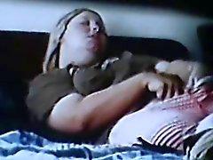 spycam espió blonde Rubing clit agitando el orgasmo
