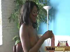 Ebony get fucked by several white dudes 24