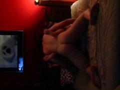 Tied up copine baisée dur sur caméra cachée