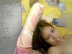 Skinny Filipina's Small Tits Sister is Camming1
