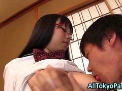 Big Синица азиатский в бокалах