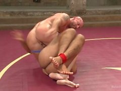 Leo Forte Returns To Defend His Title against Mitch Vaughn - Scene 1