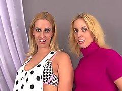 jumelles gravides Mimi & par Teagan