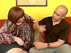 Fat milf with big breasts Jezzebel Joli feeds her lust for black meat