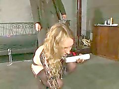 Blond german slave girl 1-2