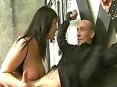Giuseppina James e Alexis Silver a 3some feticismo
