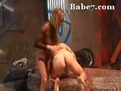 She is incredibly horny and takes it out on her slave boy