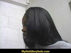 Black chick blowjob session 3