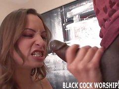 Watch me treat myself to a huge black cock