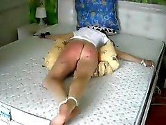 Extreme hart Prügelstrafe auf nettem Arsch Nadja