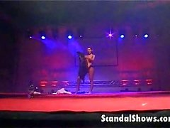 Grabación de Private de la a Big Show sexo en vivo