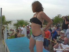 Partymädchen ohne Limit dieser Amateuraufnahmen