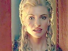 Spartacus : Lucy Lawless och slumpmässiga kvinnor .