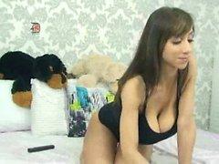 Kotitekoinen webbikamera striptease