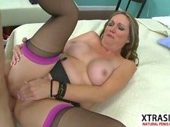 Lovely Aunty Lydia South Gets nailed Good Touching Son's Friend