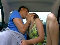 Sexo Car Asian Teen