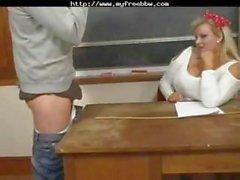 Sexy Mature Bbw Teacher Kirsten Halborg