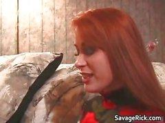 Kinky ginger slut Kaylee gets her part5