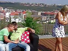 Biseksuele threesome sex