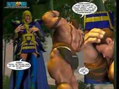 3D Comic: World of Neverquest. Episodes 11-12