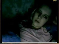 a friend of mine cums under a blanket 3 times in skype c2c