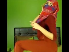 Hijab turban sexy dance ass feet