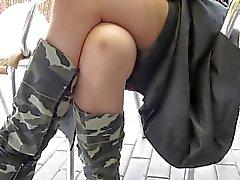 Flasing sukkia julkisen kahvila