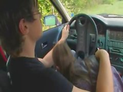 nineteen russian girl fucked on the car