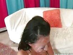 Eva Angelina totalmente creme de galos monstro