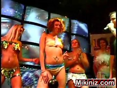 Sorority Strip Off,Amateur Blonde Brunette Ebony Party Spring Break