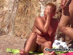Big Butts Shaved Pussy Naked Milfs beach Voyeur Spycam Vid
