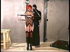 Melany strappado bondage training PART2
