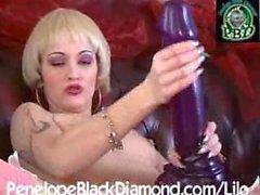 Goth massive dildo 2