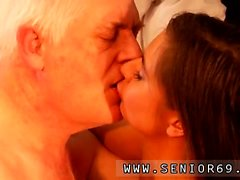Latina gets fucked hard and fat old man big tits Latoya make