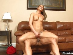 Sexy Mischa preps for her hard fucking