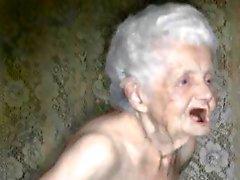 Amo la abuelita ahora antiguas y de Fotos del compilación de