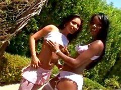 Torrid Ebony Threesome